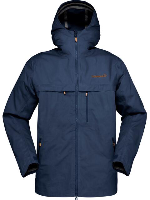 Norrøna M's Svalbard Cotton Jacket Indigo Night